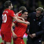 Liverpool's German midfielder Emre Can      (Photo credit should read ADRIAN DENNIS/AFP/Getty Images)