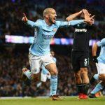 David Silva - Man City vs West ham