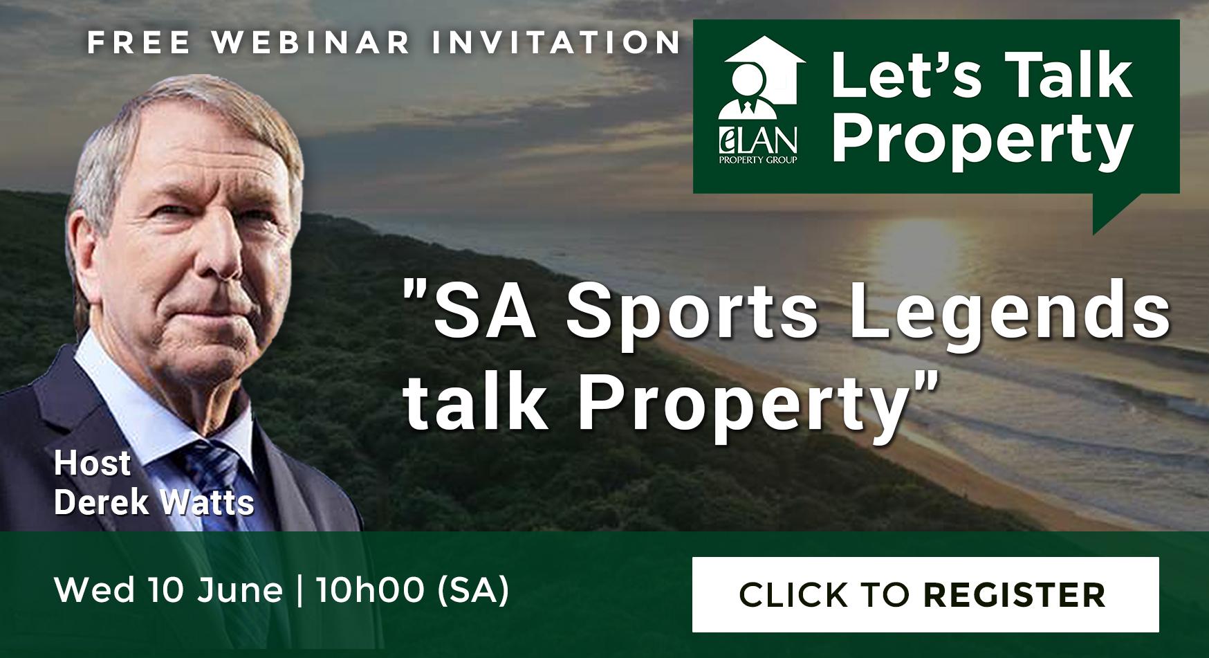 Episode 9 – SA Sports Legends Talk Property