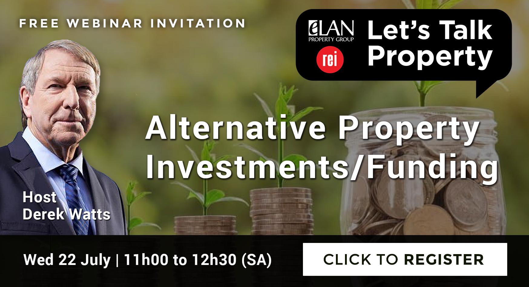 Alternative Property Investments/Funding
