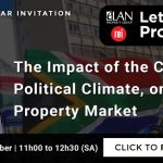 The Impact of the Current Political Climate, on the SA  Property Market