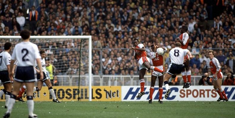 SPURS V ARSENAL 1991 FA CUP SEMI FINAL AT WEMBLEY
