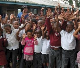 Simbithi Sings for new Guelderland school
